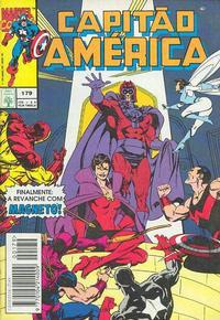 Cover Thumbnail for Capitão América (Editora Abril, 1979 series) #179