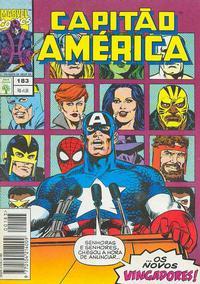 Cover Thumbnail for Capitão América (Editora Abril, 1979 series) #183