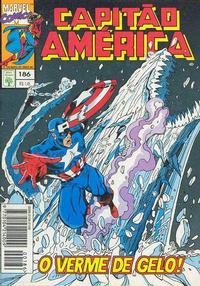 Cover Thumbnail for Capitão América (Editora Abril, 1979 series) #186