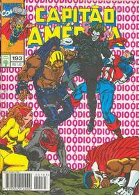 Cover Thumbnail for Capitão América (Editora Abril, 1979 series) #193