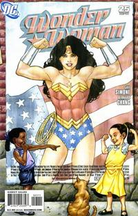 Cover Thumbnail for Wonder Woman (DC, 2006 series) #25