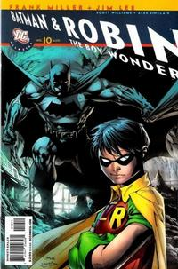 Cover Thumbnail for All Star Batman & Robin, the Boy Wonder (DC, 2005 series) #10 [Direct]
