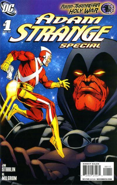 Cover for Adam Strange Special (DC, 2008 series) #1