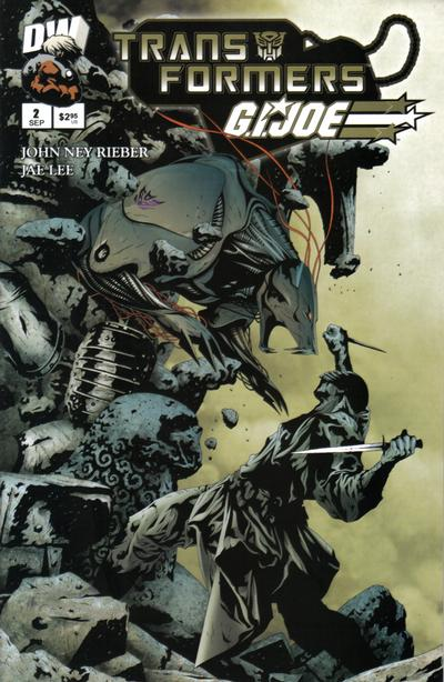 Cover for Transformers / G.I. Joe (Dreamwave Productions, 2003 series) #2