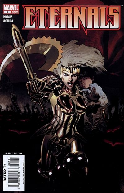 Cover for Eternals (Marvel, 2008 series) #3