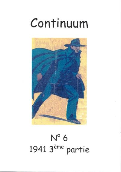 Cover for Continuum (JMF, 2007 series) #6