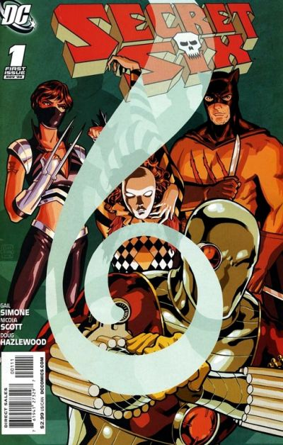 Cover for Secret Six (DC, 2008 series) #1
