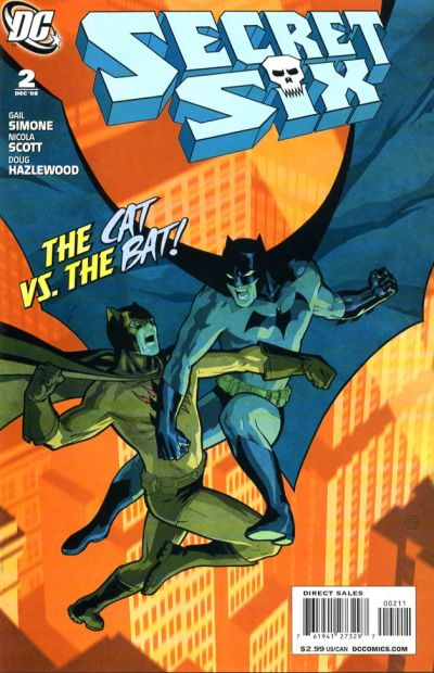 Cover for Secret Six (DC, 2008 series) #2