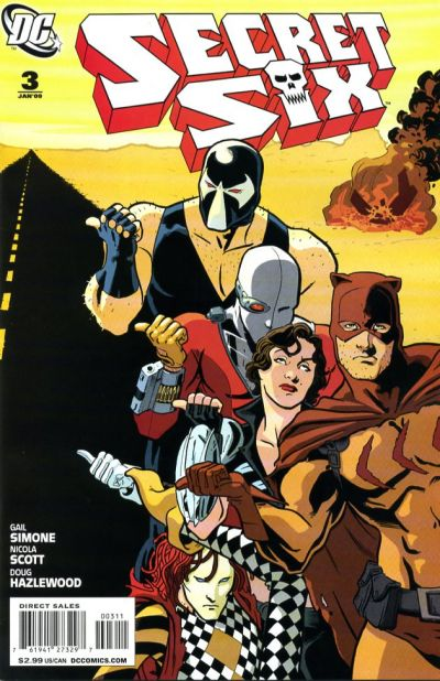 Cover for Secret Six (DC, 2008 series) #3