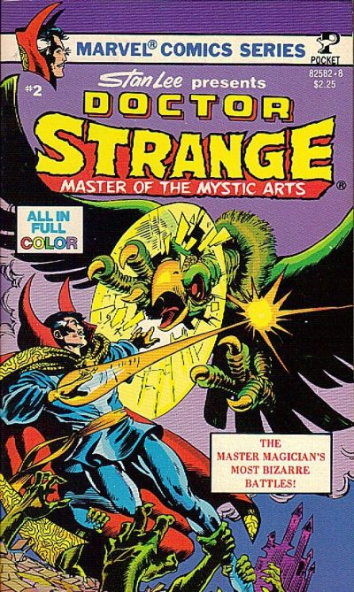Cover for Doctor Strange, Master of the Mystic Arts (Pocket Books, 1978 series) #2