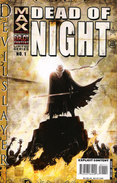 Cover for Dead of Night Featuring Devil-Slayer (Marvel, 2008 series) #1