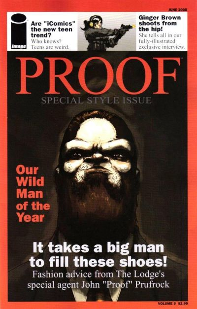 Cover for Proof (Image, 2007 series) #9