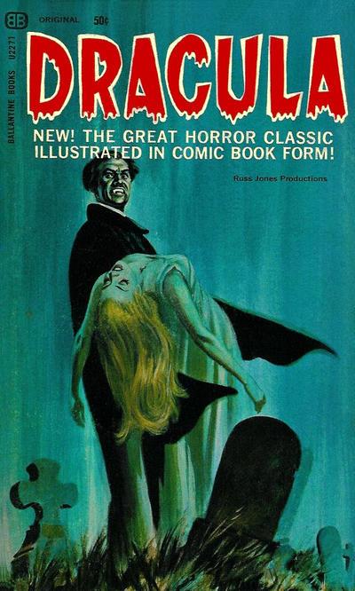 Cover for Dracula (Ballantine Books, 1966 series) #U2271