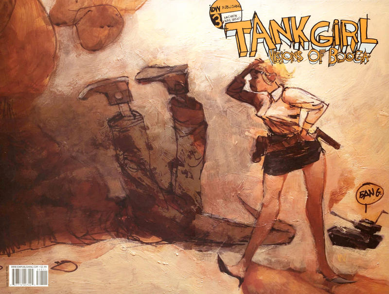 Cover for Tank Girl: Visions of Booga (IDW, 2008 series) #3