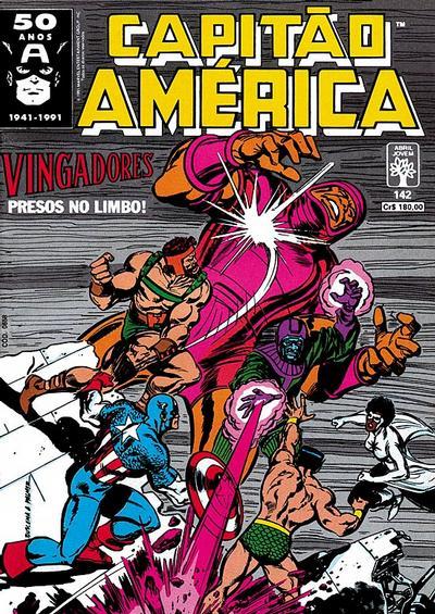 Cover for Capitão América (Editora Abril, 1979 series) #142