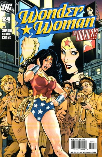 Cover for Wonder Woman (DC, 2006 series) #24