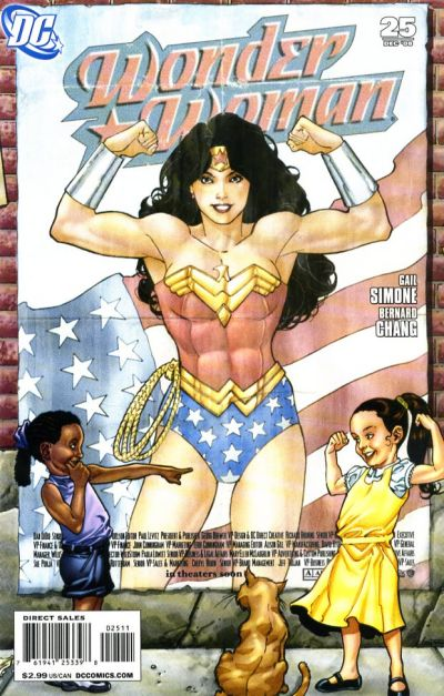 Cover for Wonder Woman (DC, 2006 series) #25