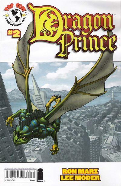 Cover for Dragon Prince (Image, 2008 series) #2