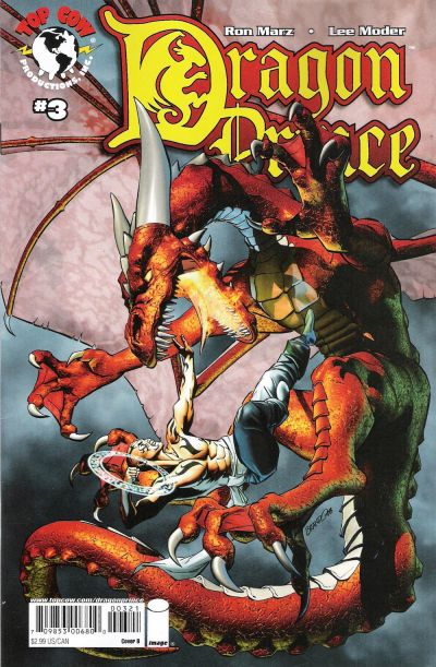 Cover for Dragon Prince (Image, 2008 series) #3