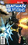 Cover for Batman and the Outsiders (DC, 2007 series) #13