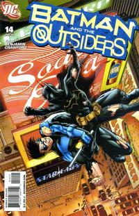 Cover Thumbnail for Batman and the Outsiders (DC, 2007 series) #14