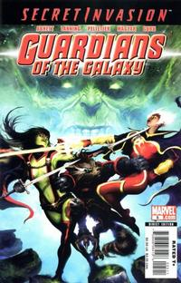 Cover Thumbnail for Guardians of the Galaxy (Marvel, 2008 series) #5