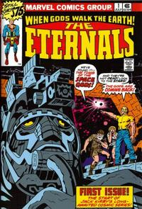 Cover Thumbnail for Eternals by Jack Kirby [Eternals Omnibus] (Marvel, 2006 series) #[nn]