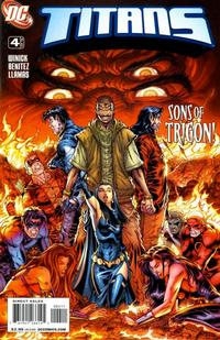Cover Thumbnail for Titans (DC, 2008 series) #4