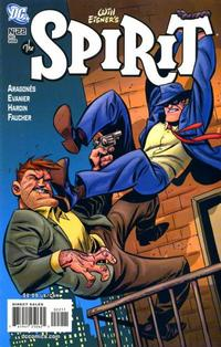 Cover Thumbnail for The Spirit (DC, 2007 series) #22