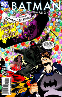 Cover Thumbnail for Batman: Gotham After Midnight (DC, 2008 series) #5