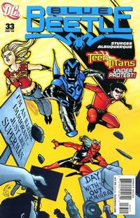 Cover Thumbnail for The Blue Beetle (DC, 2006 series) #33