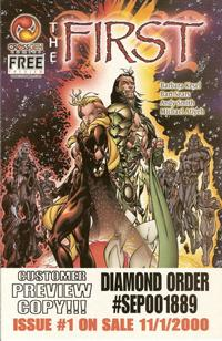 Cover Thumbnail for The First Preview (CrossGen, 2000 series)