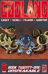 Cover Thumbnail for Godland (Image, 2005 series) #21