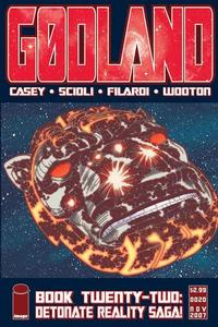 Cover Thumbnail for Godland (Image, 2005 series) #22