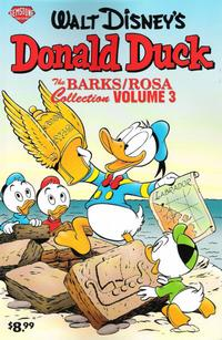 Cover Thumbnail for The Barks/Rosa Collection (Gemstone, 2007 series) #3 - Walt Disney's Donald Duck Adventures