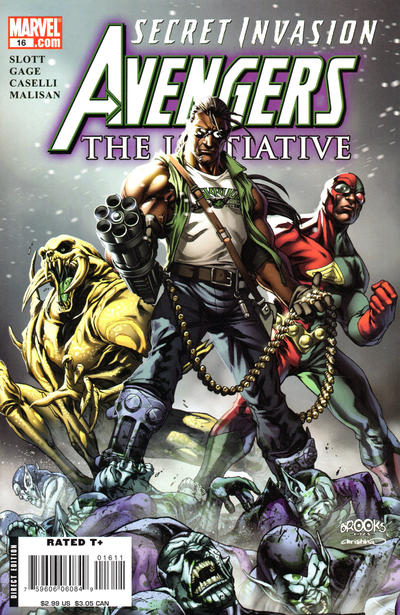 Cover for Avengers: The Initiative (Marvel, 2007 series) #16