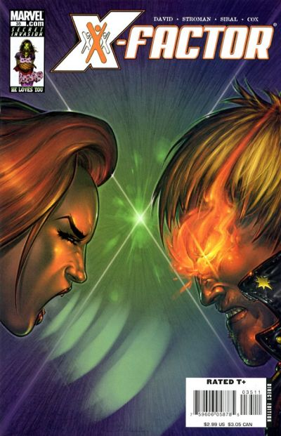 Cover for X-Factor (Marvel, 2006 series) #35