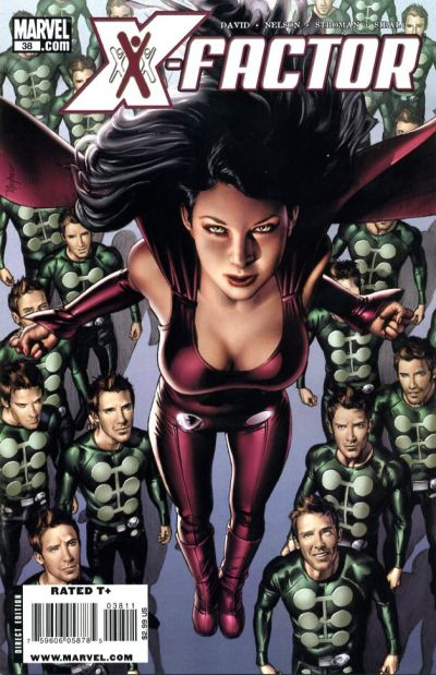 Cover for X-Factor (Marvel, 2006 series) #38