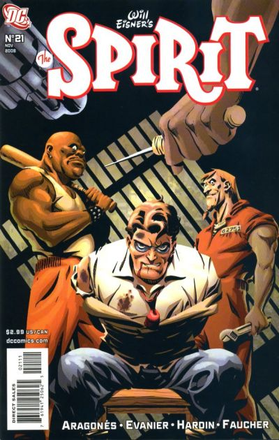 Cover for The Spirit (DC, 2007 series) #21