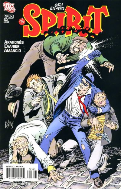 Cover for The Spirit (DC, 2007 series) #23