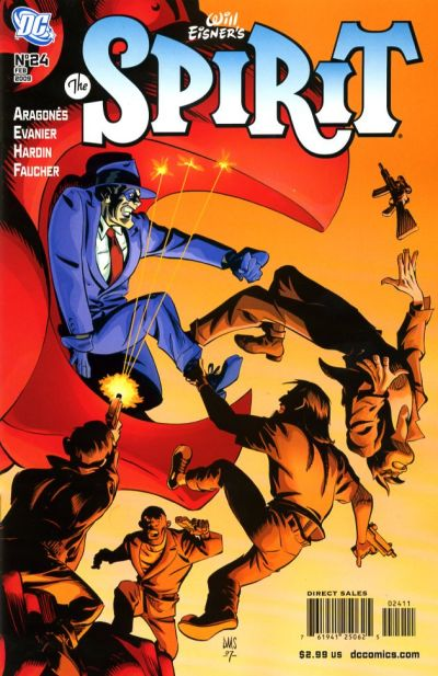 Cover for The Spirit (DC, 2007 series) #24
