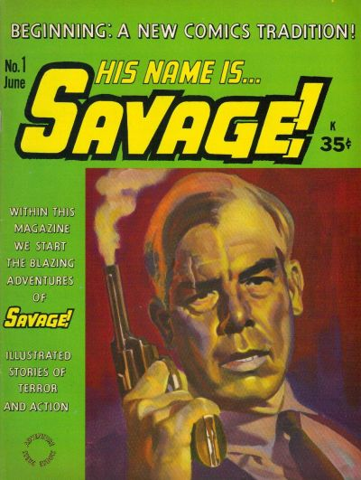 Cover for His Name Is Savage (Adventure House Press, 1968 series) #1