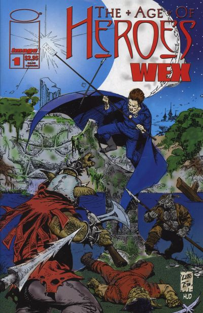 Cover for Age of Heroes: Wex (Image, 1998 series) #1