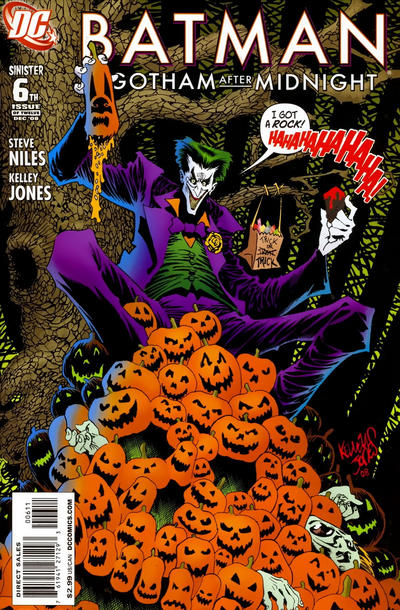 Cover for Batman: Gotham After Midnight (DC, 2008 series) #6