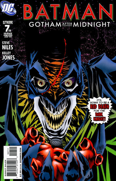 Cover for Batman: Gotham After Midnight (DC, 2008 series) #7