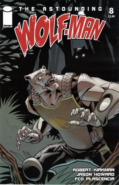 Cover for The Astounding Wolf-Man (Image, 2007 series) #8