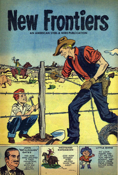 Cover for New Frontiers (Harvey, 1958 series)