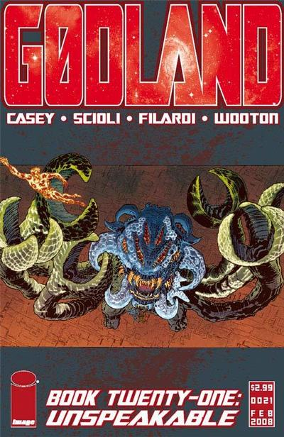 Cover for Godland (Image, 2005 series) #21