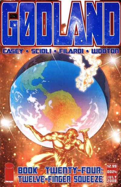 Cover for Godland (Image, 2005 series) #24