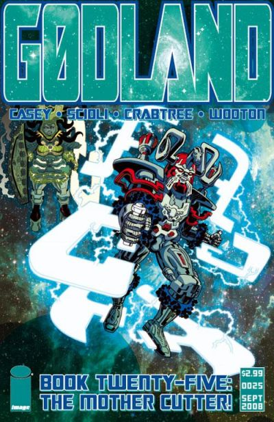 Cover for Godland (Image, 2005 series) #25